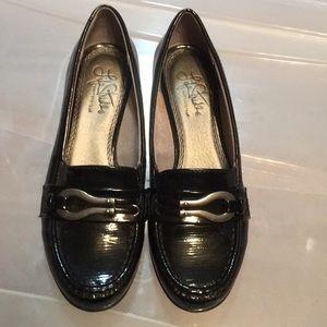 Women's black 7.5 Life Stride loafer